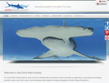 Tablet Preview of dutchsharksociety.info